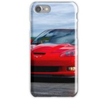 2009 Corvette ZR1 Roadster iPhone Case/Skin