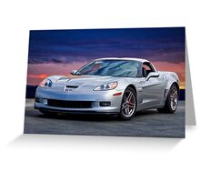 2006 Corvette Z06 Coupe Greeting Card
