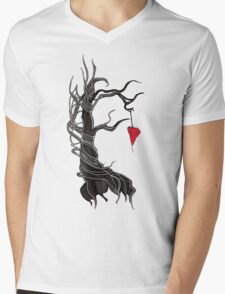 Love, like a tree Mens V-Neck T-Shirt