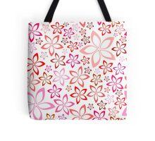tender floral pink seamless pattern Tote Bag