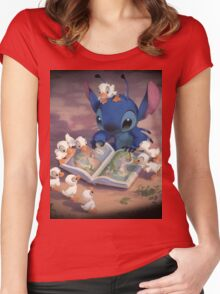 Ugly Duckling Women's Fitted Scoop T-Shirt