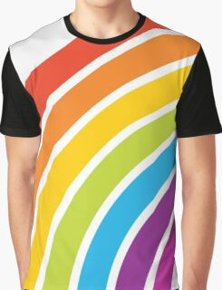 A Rainbow World Graphic T-Shirt
