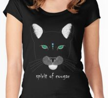 Spirit of Cougar Women's Fitted Scoop T-Shirt