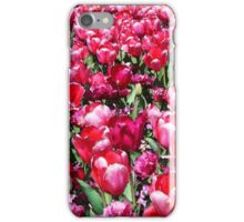 Garden of Tulips iPhone Case/Skin