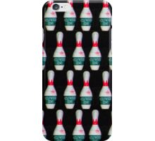 Graphic Bowling Pins iPhone Case/Skin