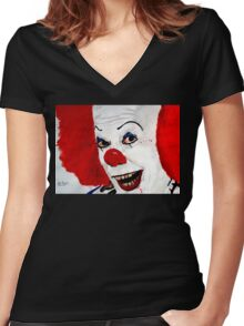 Pennywise Women's Fitted V-Neck T-Shirt