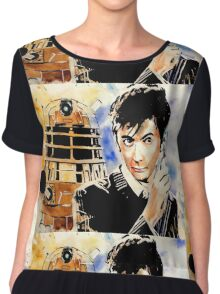 The 10th Doctor Chiffon Top