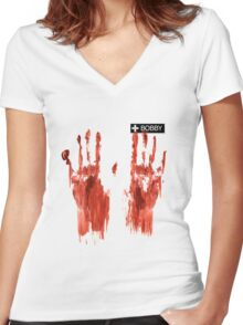 Sameen Shaw - Person Of Interest - Season 5 Women's Fitted V-Neck T-Shirt