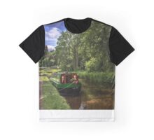 The Towpath at Talybont on Usk Graphic T-Shirt