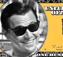THE WOLF OF WALL STREET - FUN COUPON Sticker