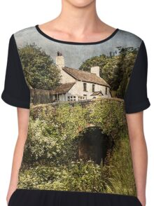 The Lock Keepers Cottage  Chiffon Top