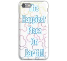 Happiest Place on Earth! iPhone Case/Skin