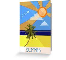 Summer Greeting Card
