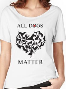 Every dog deserves a chance at having a loving, forever home; regardless of their breed and no matter the age, each dog deserves to be loved. Women's Relaxed Fit T-Shirt
