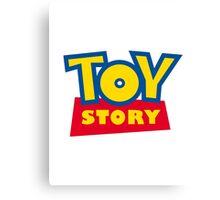 Toy Story Sticker Canvas Print