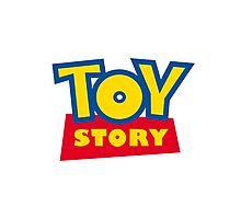 Toy Story Sticker Photographic Print