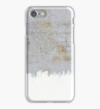 Painting on Raw Concrete iPhone Case/Skin