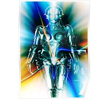 Star Light Robot Poster