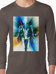 Star Light Robot Long Sleeve T-Shirt
