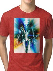 Star Light Robot Tri-blend T-Shirt