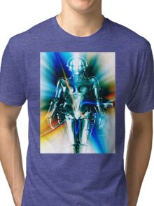 Star Light Robot Tri-blend T-Shirt