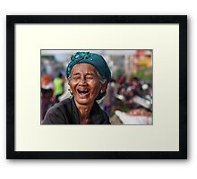 Because of Photographer Framed Print