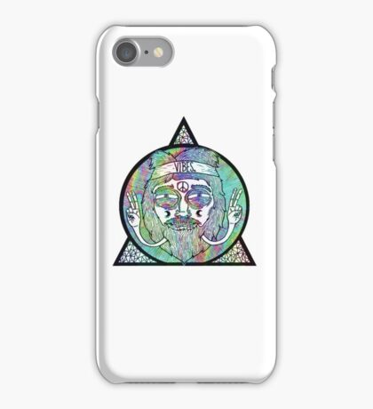 Trippy Psychedelic Hippie Design iPhone Case/Skin