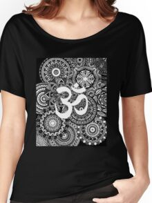 Om Mandala Page Women's Relaxed Fit T-Shirt