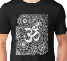 Om Mandala Page Unisex T-Shirt