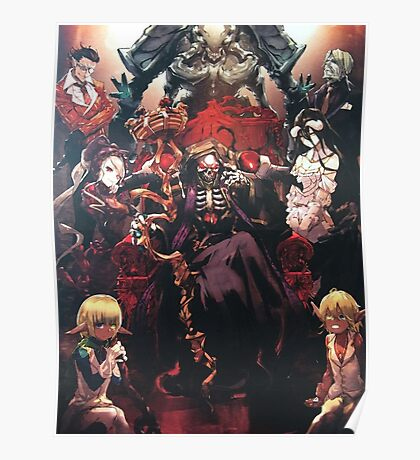 Floor Guardians - overlord characters Poster