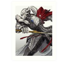 Twin Swords of Slashing Death Art Print