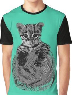 cute kitten Graphic T-Shirt