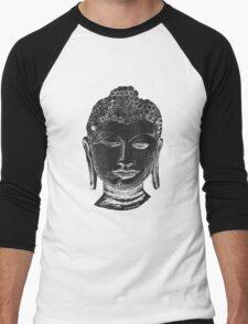 Buddha Drawing Men's Baseball ¾ T-Shirt