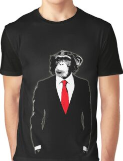 Domesticated Monkey Graphic T-Shirt