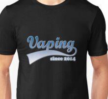 Vape Design Swoosh Vaping Since 2014 Unisex T-Shirt