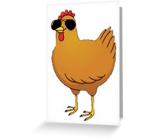 Party Chick Greeting Card