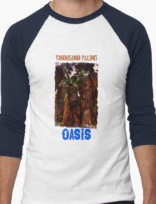 Thousand Palms Oasis Men's Baseball ¾ T-Shirt