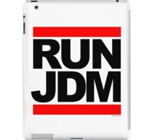 RUN JDM iPad Case/Skin