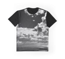 Seascape with dangly clouds - photograph Graphic T-Shirt