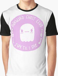Awkward Ghost Club Graphic T-Shirt