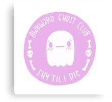 Awkward Ghost Club Canvas Print