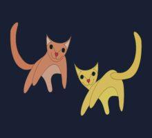 Jumpy Cats One Piece - Short Sleeve