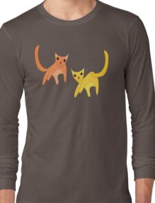 Jumpy Cats Long Sleeve T-Shirt