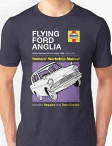 Haynes Manual - Flying Ford Anglia - T-shirt Unisex T-Shirt
