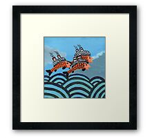 Fiship Framed Print