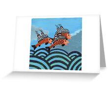 Fiship Greeting Card