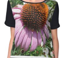 Cone Flower Chiffon Top