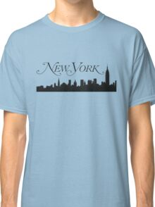 The Skyline of New York City Classic T-Shirt
