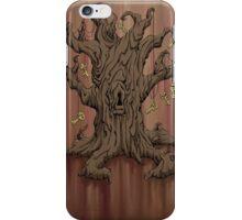 Gnarled Tree with Skeleton Keys in Red iPhone Case/Skin