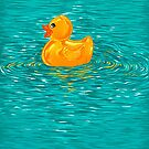 Quack Quack Says The Plastic Duck! by Nicolae Negura